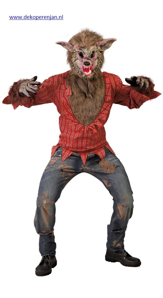 Adult Big Bad Wolf Maat L