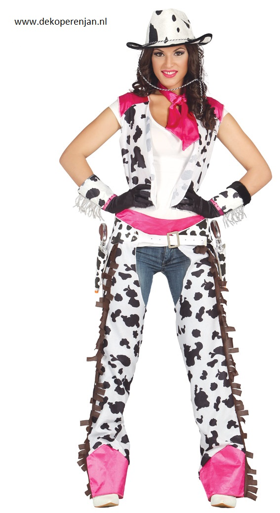 Adult Rodeo Cowgirl Maat L