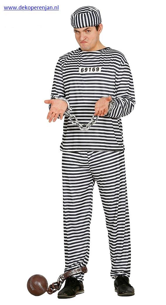 Gevangene pak maat L(52-54)