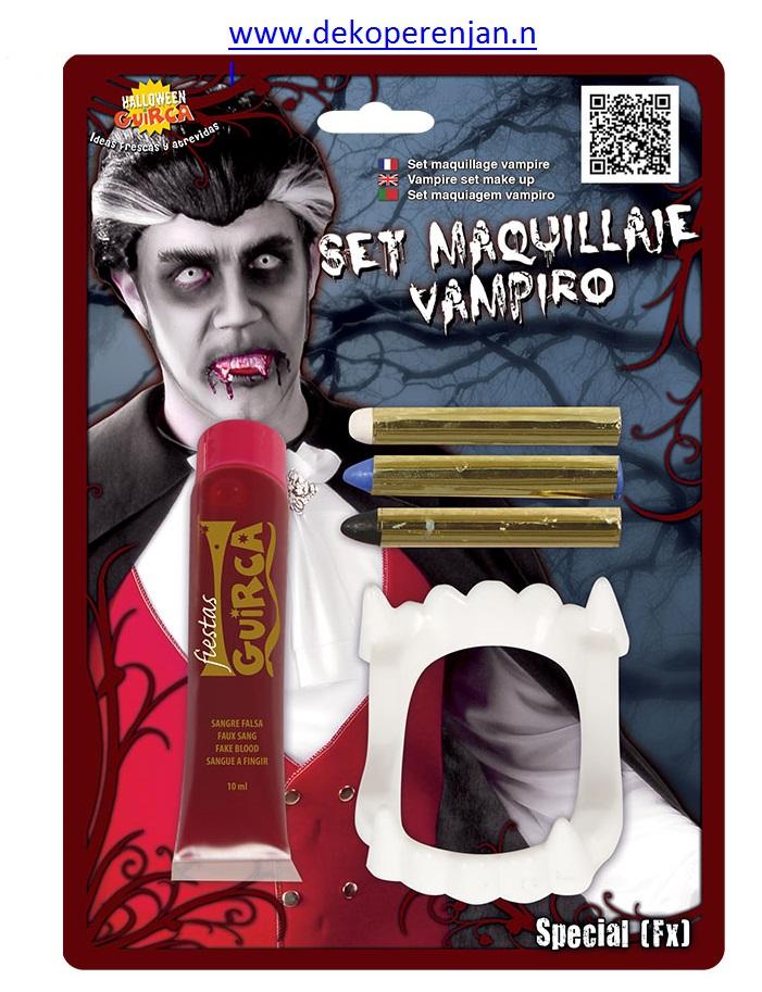 Vampier Schmink set