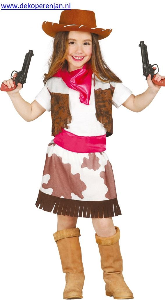 Cowgirl (voor kinderen van 5 - 6 jaar