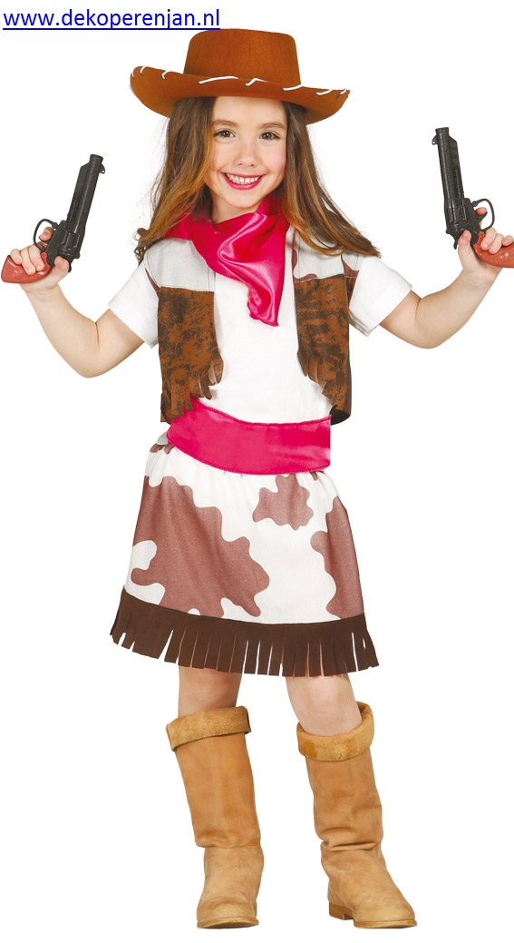 Cowgirl ( voor kinderen van 10 - 12)