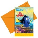 Disney Finding Dory Uitnodigingen - 6 stuks