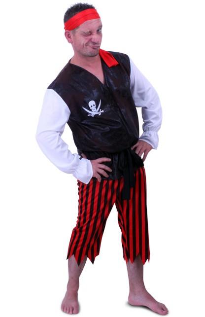 Piraat 'Black Beard' Maat 54 - 56
