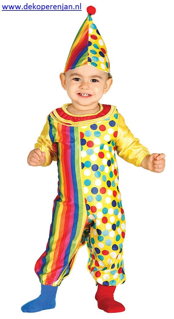 Clowns pakje voor een baby van 12 tot 24 maanden