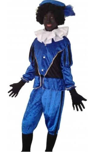 Pietenpak Maat XL blauw
