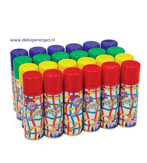 Confetti spray