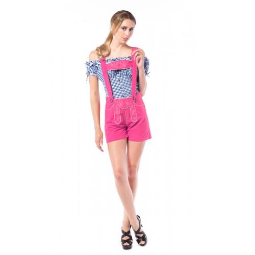 Trachtenhose Deluxe Pink Maat XL