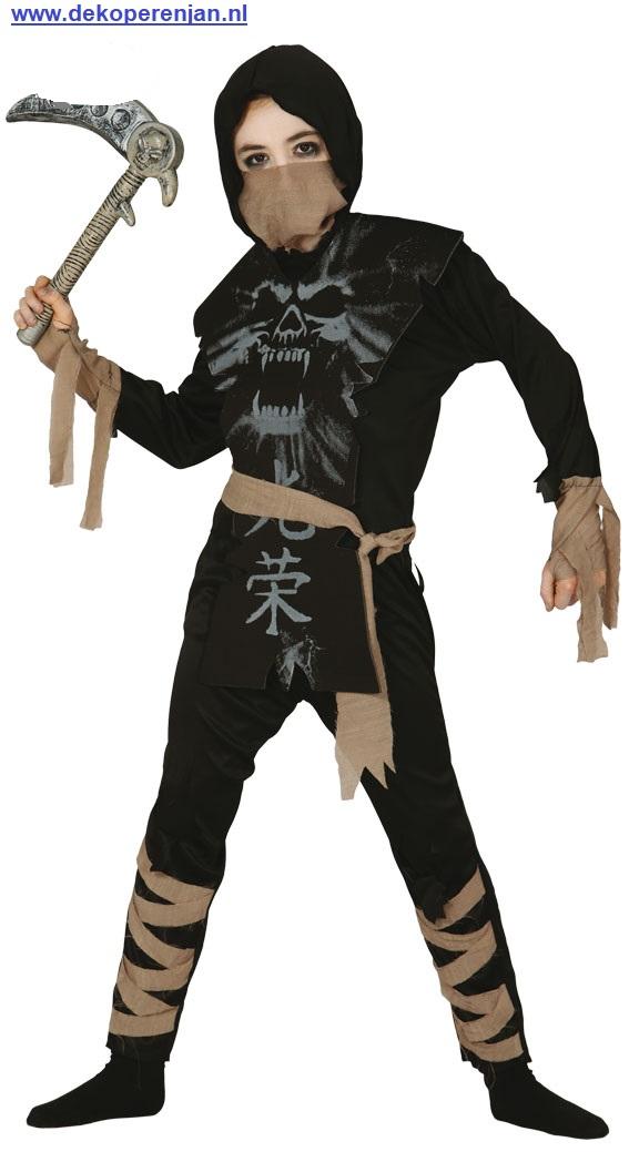 Ninja voor kinderen van 7/9 jaar