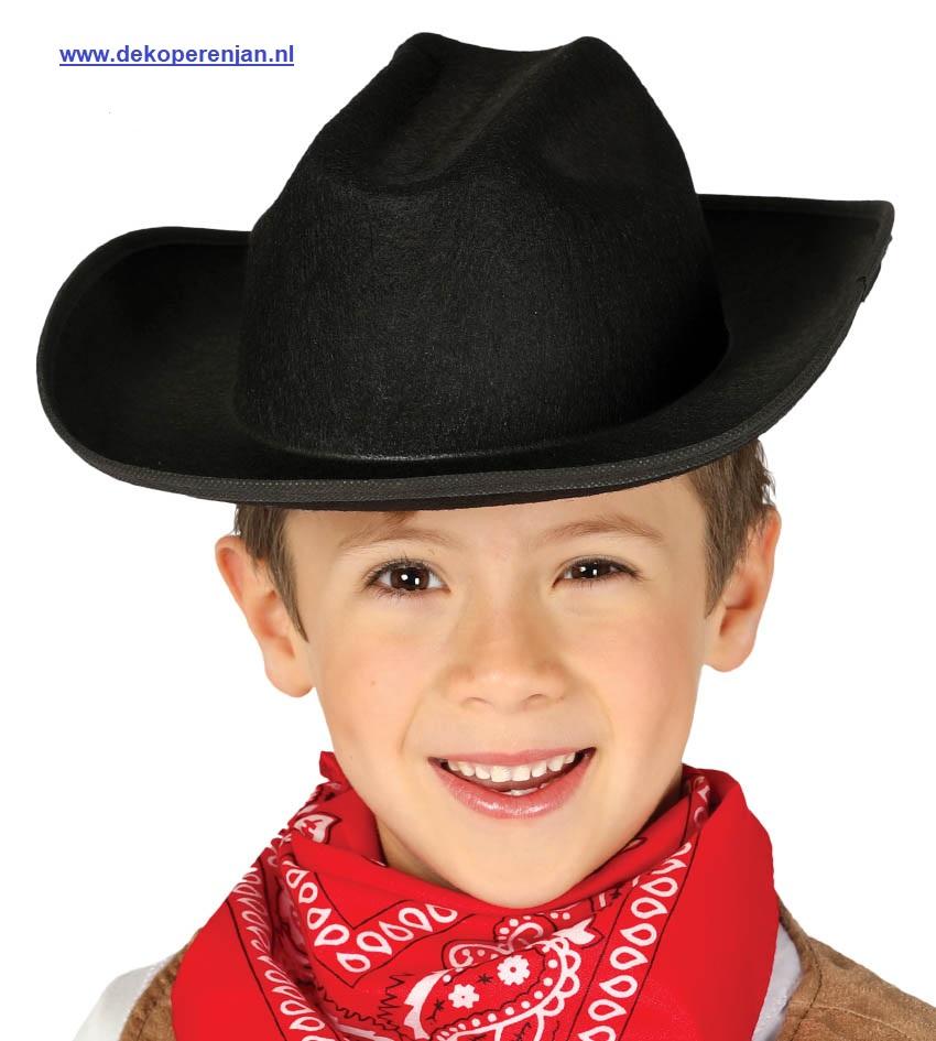 Kinder cowboy hoed