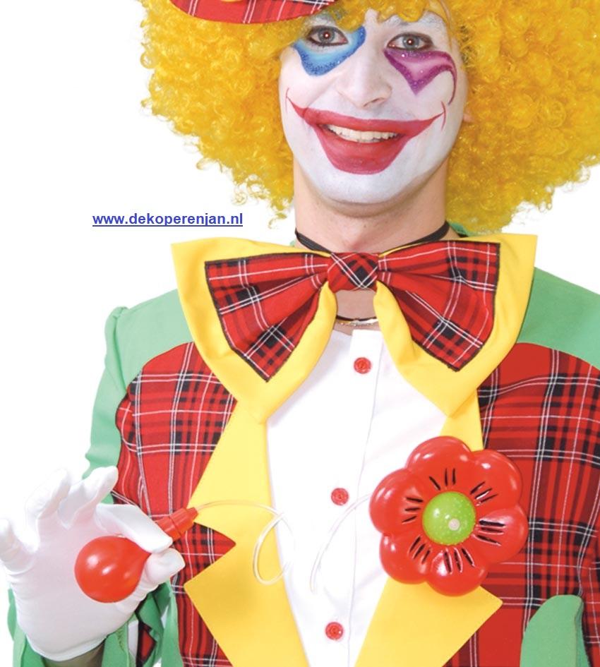 Fop bloem clown
