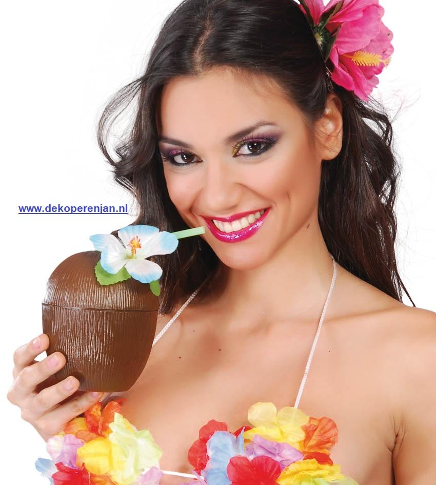 Drink coconut beker