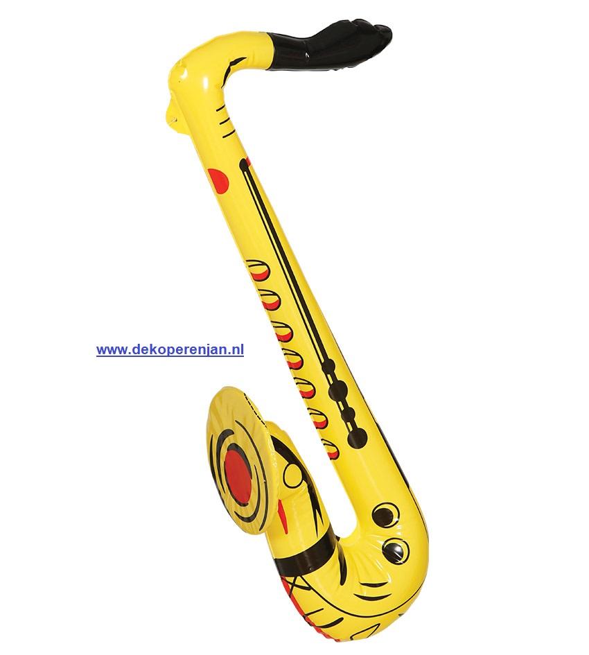 Opblaasbare saxophone