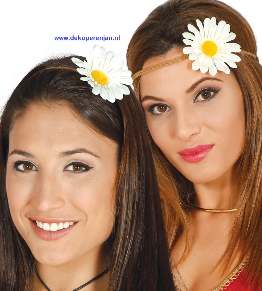 bloemen tiara