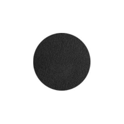 Aqua facepaint zwart (45 gram)