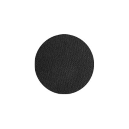 Aqua facepaint zwart (16 gram)