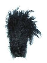 Floss veer zwart 30cm