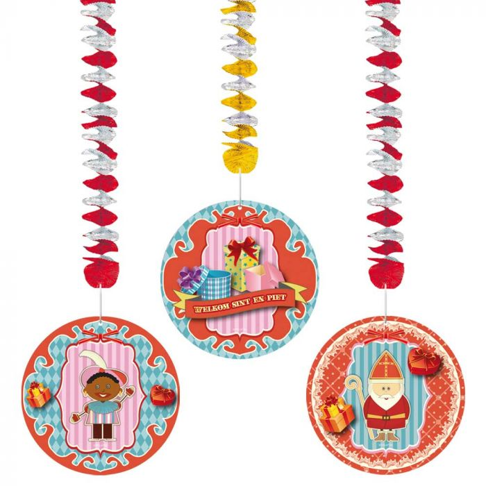 Sint & Piet hangdecoratie