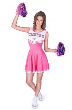 cheer leader pink