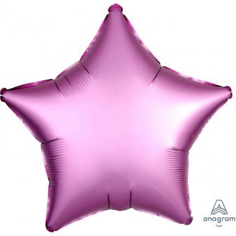 Foli ster ballon paars 43 cm