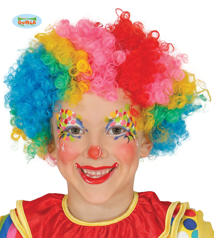 clowns pruik kinder