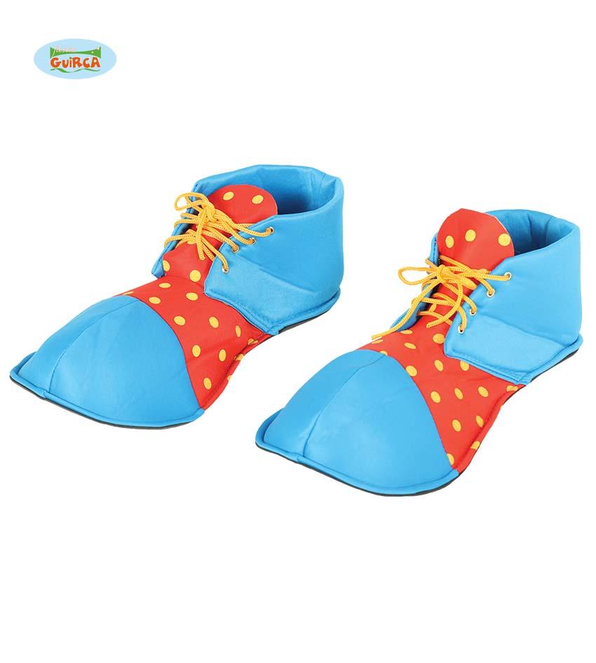 clowns schoenen blauw