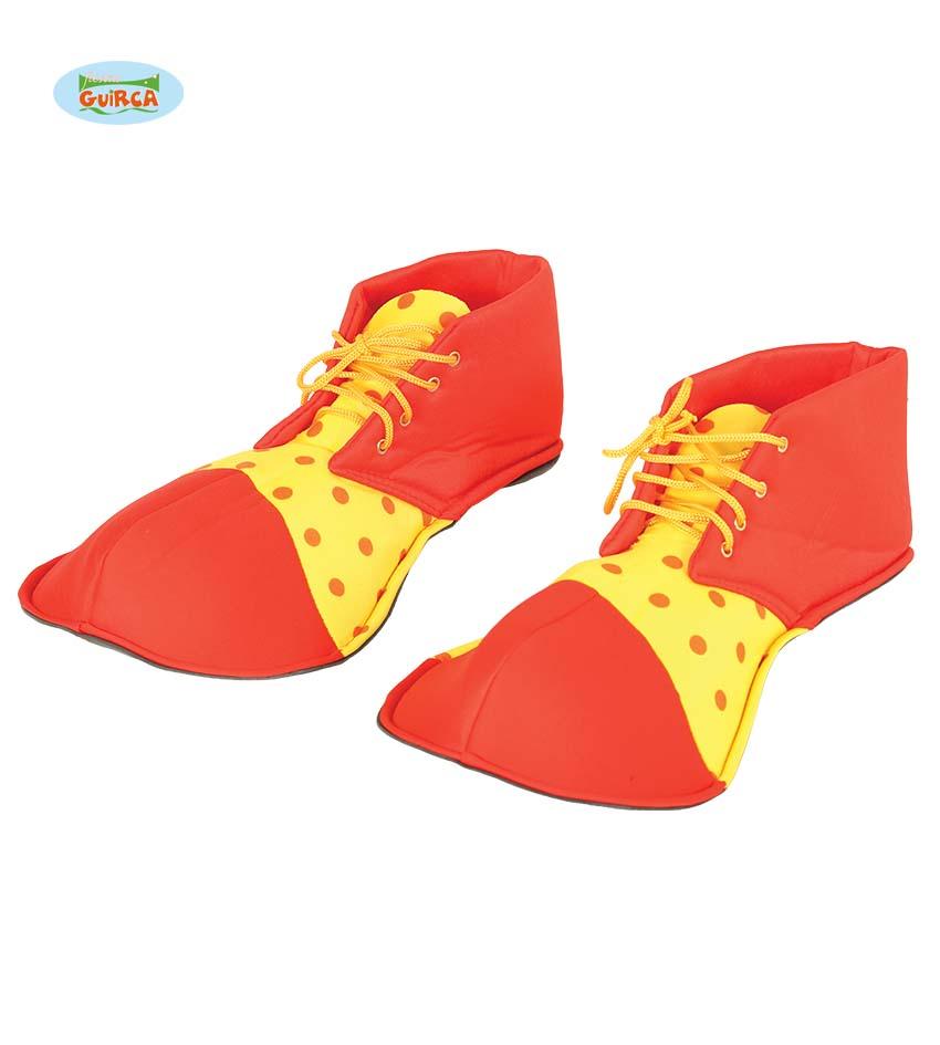 clowns schoenen rood