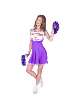cheerleader paars M