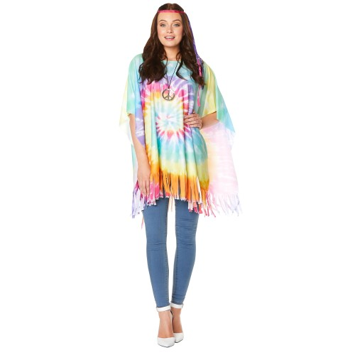 poncho one side