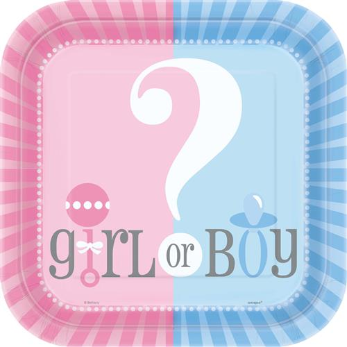 8 boortjes gender reveal