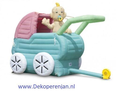 geboorte kinderwagen 3m 50euro borg