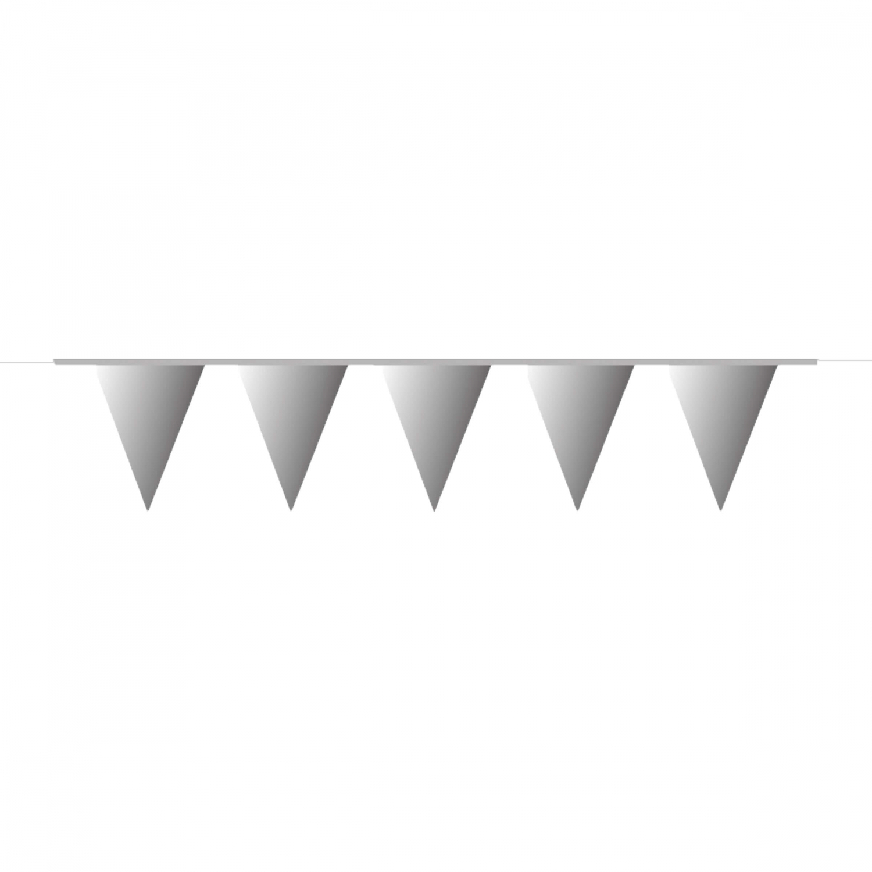 vlaggenlijn zilver 10m