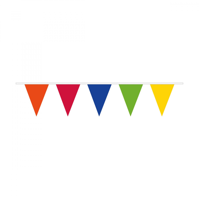 vlaggenlijn gekleurt 10m