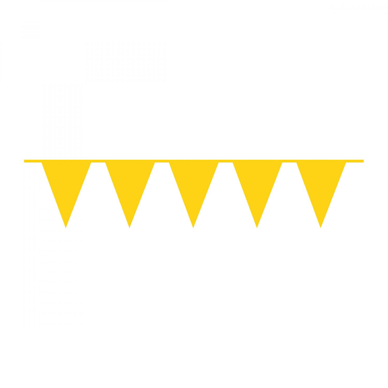 vlaggenlijn ei geel 10m