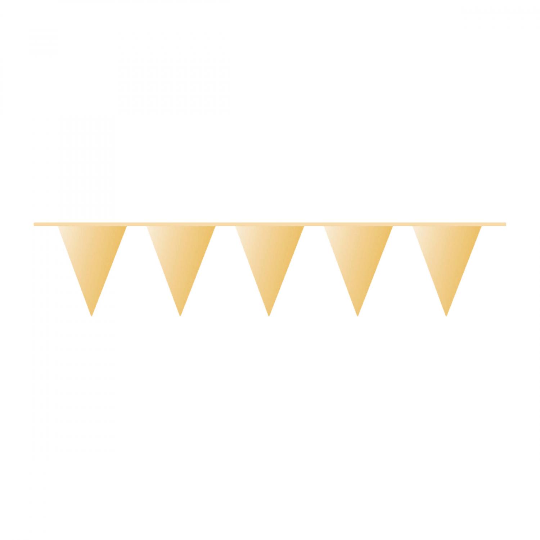 vlaggenlijn goud 10m