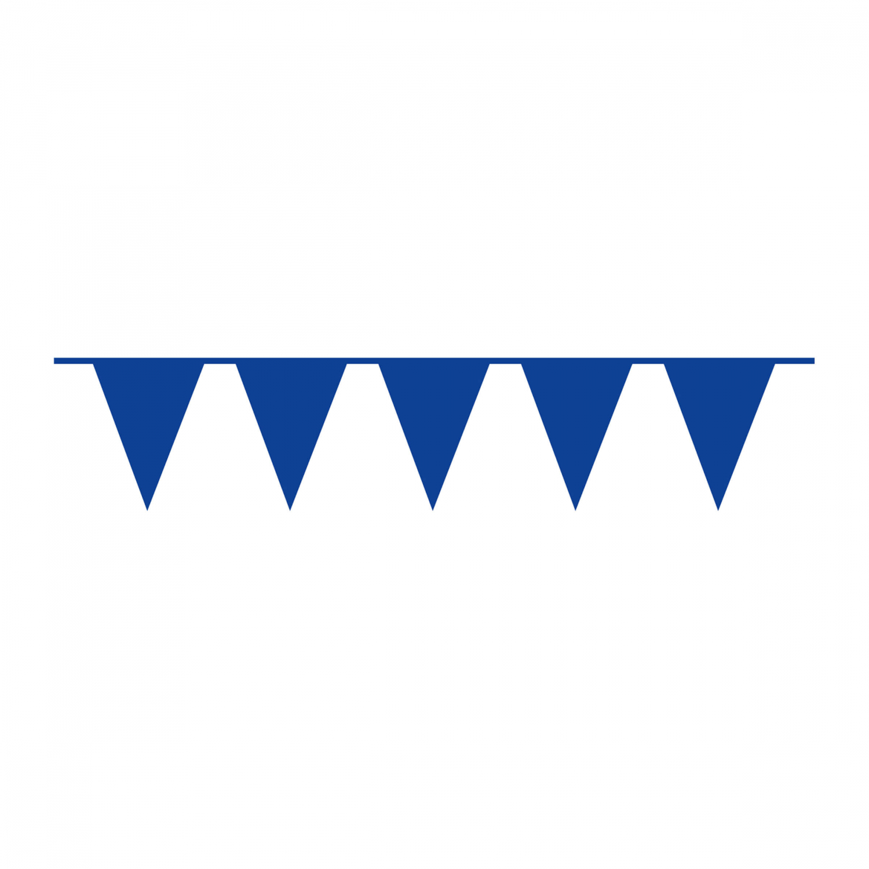 vlaggenlijn blauw 10m