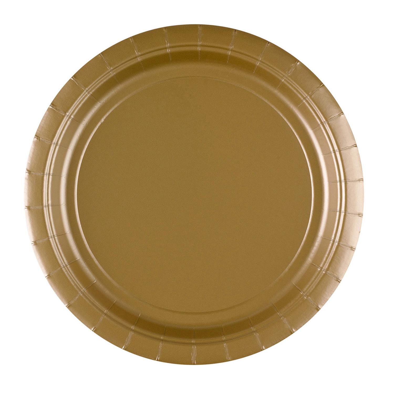 papieren bord goud