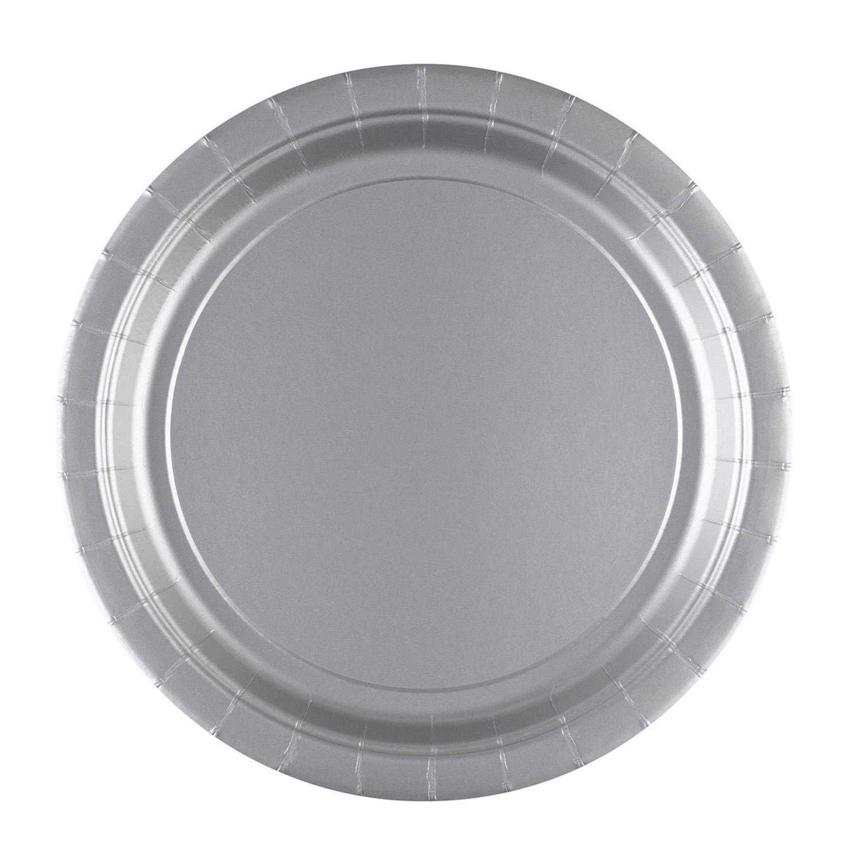 papieren bord zilver