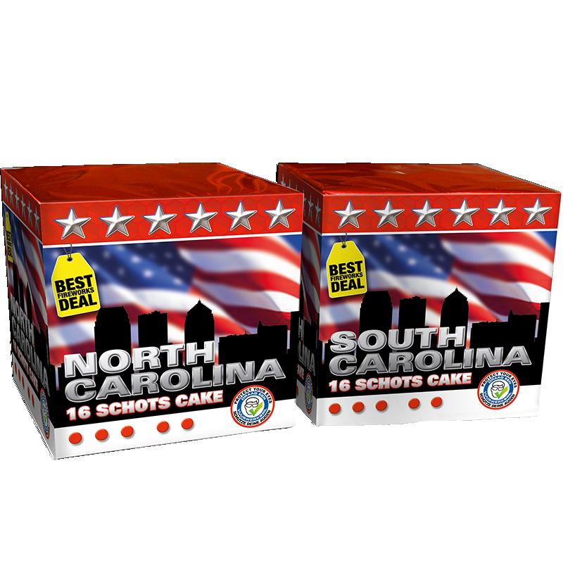 Carolina South & North