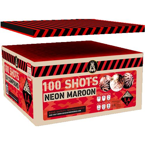 NEON MAROON ( NIEUW )