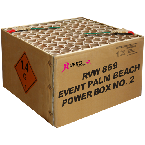 EVENT PALM BEACH POWER BOX NO.2 - 100'S