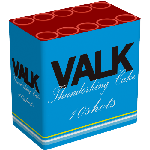 VALK THUNDERKING CAKE ( 10 SCHOTS )