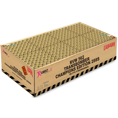 TRANSBOMBER CHAMPIONS EDITION 288 SCHOTS ( NIEUW )