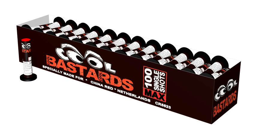 Cool Bastards 100 stuks in karton