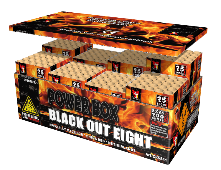 Black Out Eight (8 in een box)