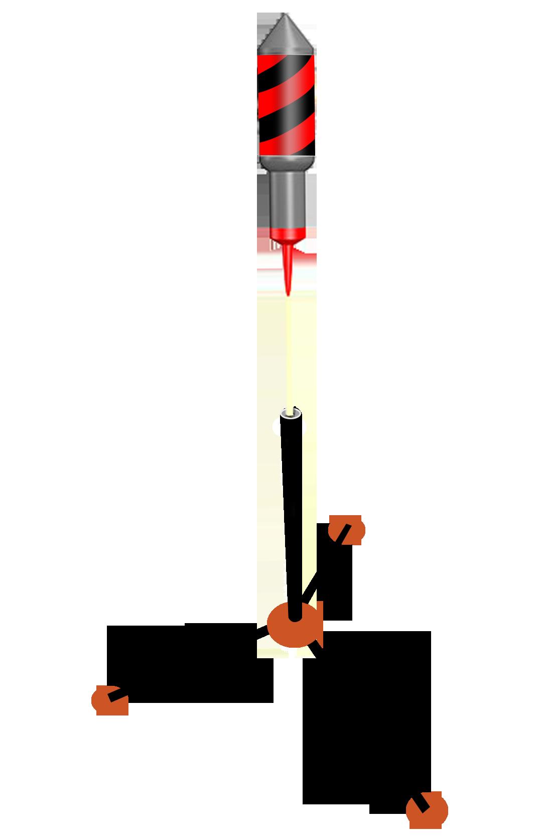 Pijlenstandaard (3 poot)