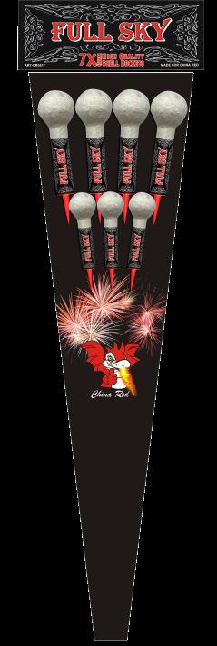 Full Sky Rockets (7 pijlen)