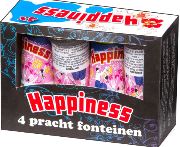 Happiness (4 stuks) CAT1*