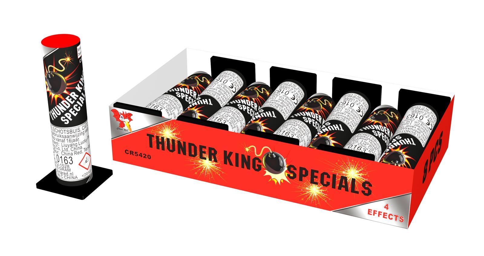 Thunder King Specials (8 stuks)