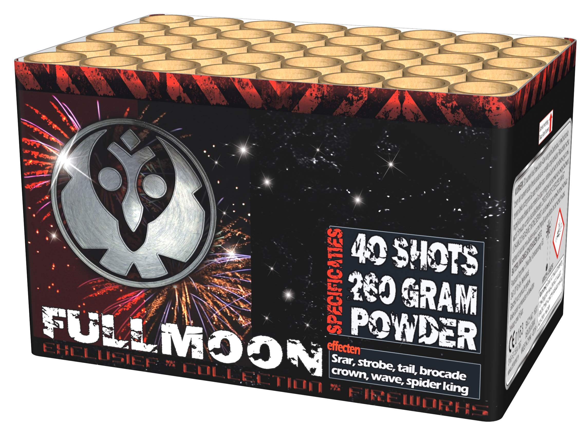 Full moon 40 shots top cake ky3720 china red intratuin for Intratuin lochem